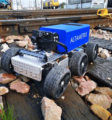 Robot d'inspection sous caisse de train - Altametris
