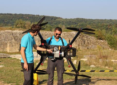 presentation drone ricopter et capeteur lidar